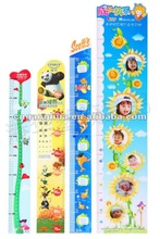 Plastic Growth Chart in sticker, can be used as promotional gift