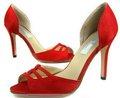 أفضل بيع جديد مصمم السيدات 2014 اللون الأحمر موضة أحذية عالية الكعب