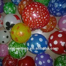 Wedding decoration colorful latex ballon