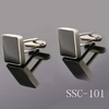 Square shaped enameled stainless steel cufflinks(SSC-101)