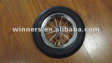 small rubber wheel , pneumatic wheel