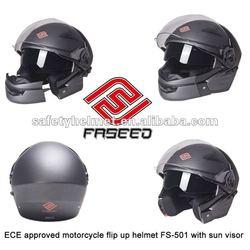 Fresh ABS material modular helmet with Anti-fog visor and Micrometric Buckle FS-901