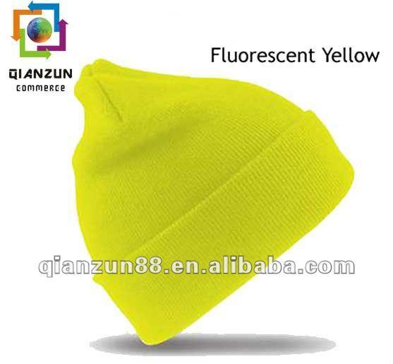 High Quality Blank Beanie Ski Hat Multi-color