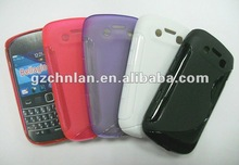 for blackberry 9790 tpu case with S line design