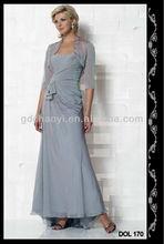 Madre Vintage de la novia Madre trajes Formal Ocasion Chaqueta de Manga Larga
