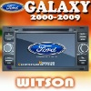 WITSON gps navigation disc FORD GALAXY with Radio RDS function