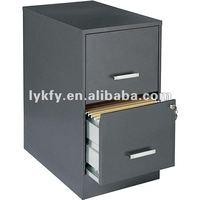 KFY-B-02 Gray 2-Drawer Office Furniture Office Depot