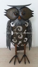 2013 new Decorative metal owl table top art