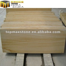High quality yellow sandstone exterior slab doors wood
