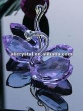 Antique Wedding favor crystal swan wholesale