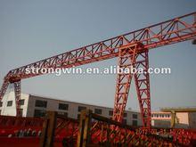 rail mounted workshop gantry crane price container