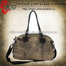 New Style Special Washed Canvas Shoulder Bag/Handbag For Ladies