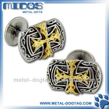high quality epoxy cuff links