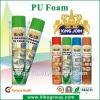 Canton Fair structural expanding foam tube/gun type 750ml manufacturer ROHS certificate