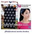 fábrica bandanas logo tubulares personalizados multifuctional sellados
