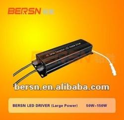 LED Driver 124W 220V/110V for streetlight/ outdoor/ tunnel light/ flood light/ garden light