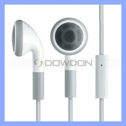 3.5MM Earphone With Mic for iPhone 5 5S Headphone Earbuds