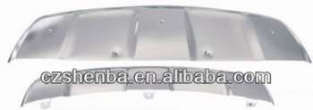 stainless steel front and rear skid plate for BMW X6,car accessories.