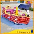 produtos aoqi pirata inflável bouncy com livre en14960 certificado