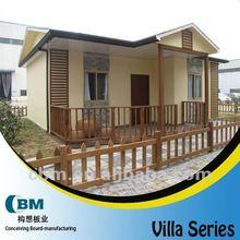 Luxury prefab steel frame villa