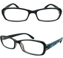 2015 cheaper design black printing reading eyewear frame custom
