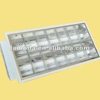 grid fluorescent ceiling light fixture high quality Fluorescent T8 Fluorescent Lamp Fixtures