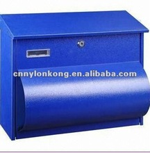 Mailbox, letterbox, postbox, home use mailbox, made of stainless steel