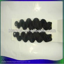 Top grade 100% virgin remy kbl hair stock