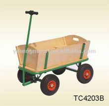 Wooden Hand Beach Wagon Cart TC4203B