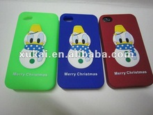 2012 Newest silicone phone cover for christmas gift