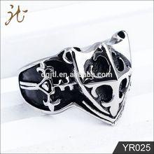 2012 fashion skull rings for women