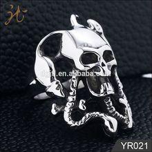 2012 fashion wholesale skull rings