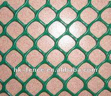 Plastic mesh for tree guard