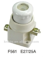 E27 25A screw type ceramic fuse