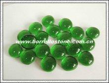 Landscape Green Flat Glass Beads