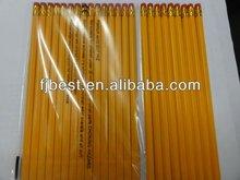 Yellow Black lead pencil in opp bag