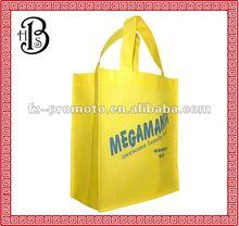 2012 fashion recycle non woven shopping bag