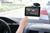 5 inch GPS win ce 6.0 navigation
