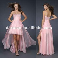 OC-783 High low hemline design arabic evening dresses for muslim 2012
