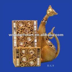 cute cat design desktop cell phone holder