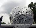 calidad brillante gigante inflable pelota de fútbol