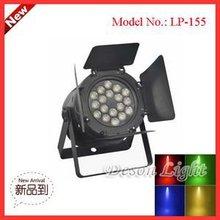 Professional LED 18x3w led par can barn door lighting