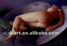 Top quality modern oil painting nude woman