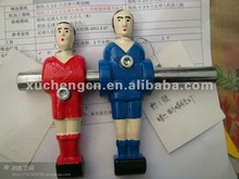 Handicraft of football man