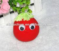 New design 8CM funny face stretch ball