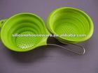 Eco-friendly promotion kitchen utensils silicone water-strainer