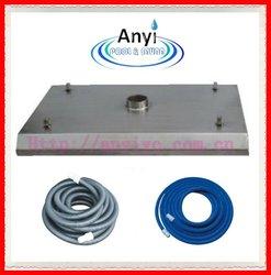 Newest design stainless steel pool vacuum head,vacuum cleaner head for big pool
