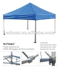 Pop up Tent Canopy (hexagon-leg folding tent)-40mm