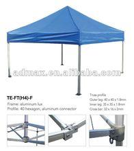 Pop up Tent Canopy (hexagon-leg folding tent)-40mm