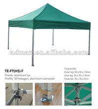 Pop up Tent Canopy (Aluminium hexagon-leg)-50mm